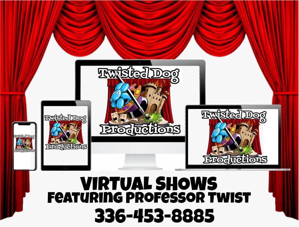 Virtual shows available for your next event!