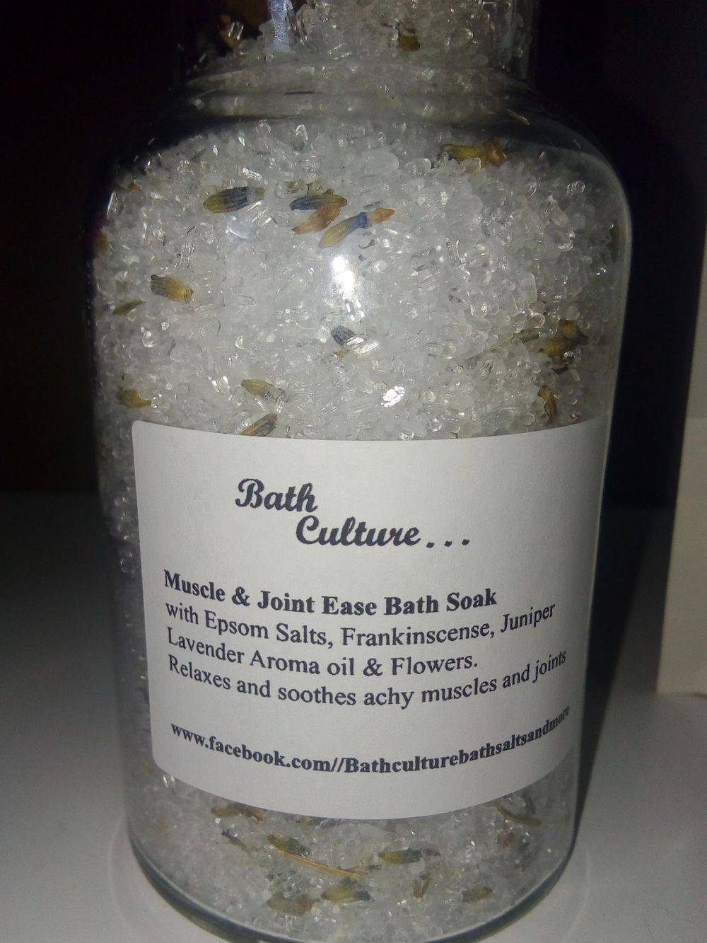 bath salts muscle and joint