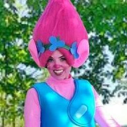 Poppy Trolls character for kids parties San Antonio