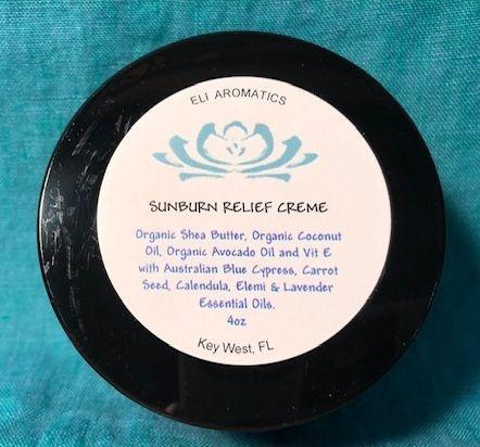 sunburn relief creme