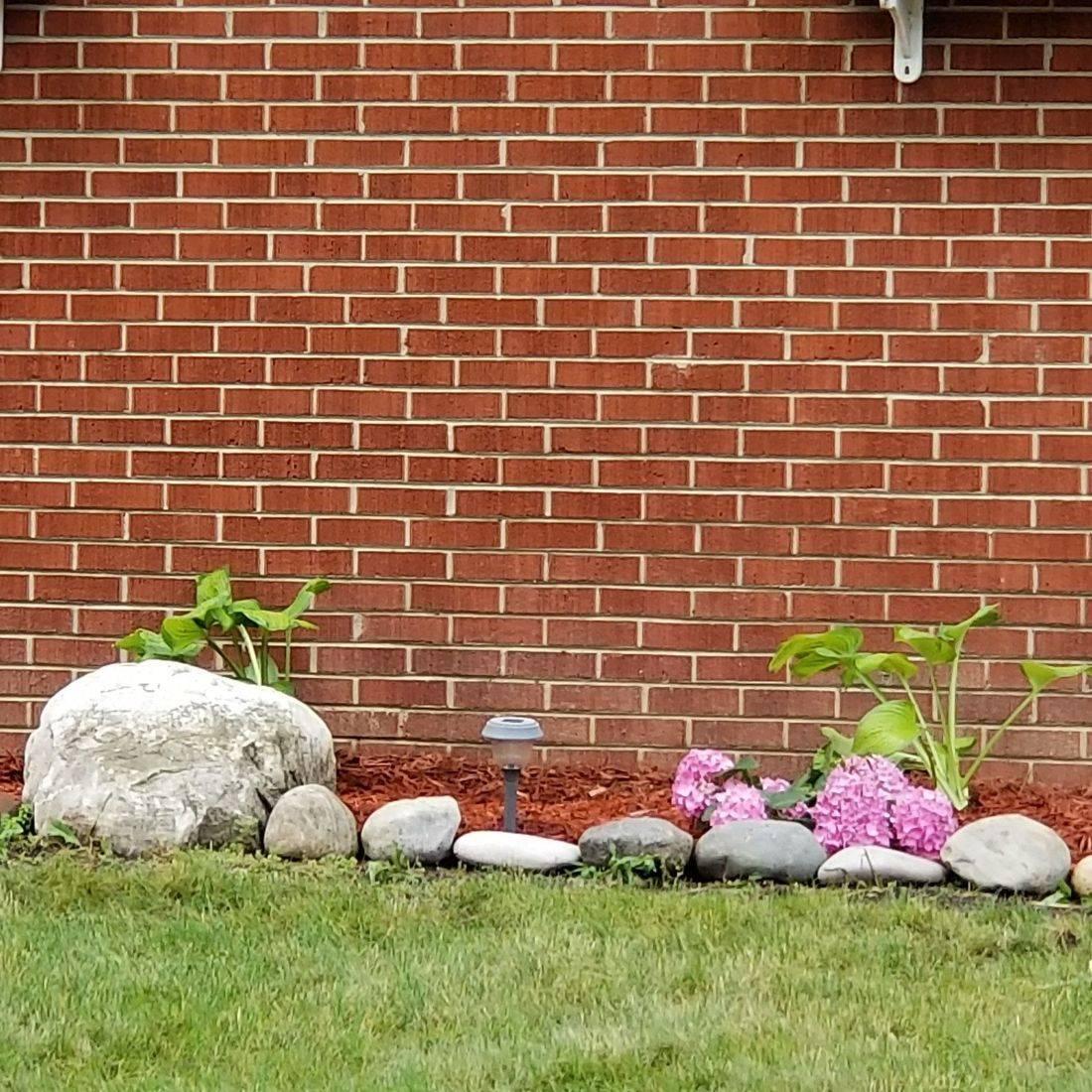 Harper Woods front garden rebuild 1