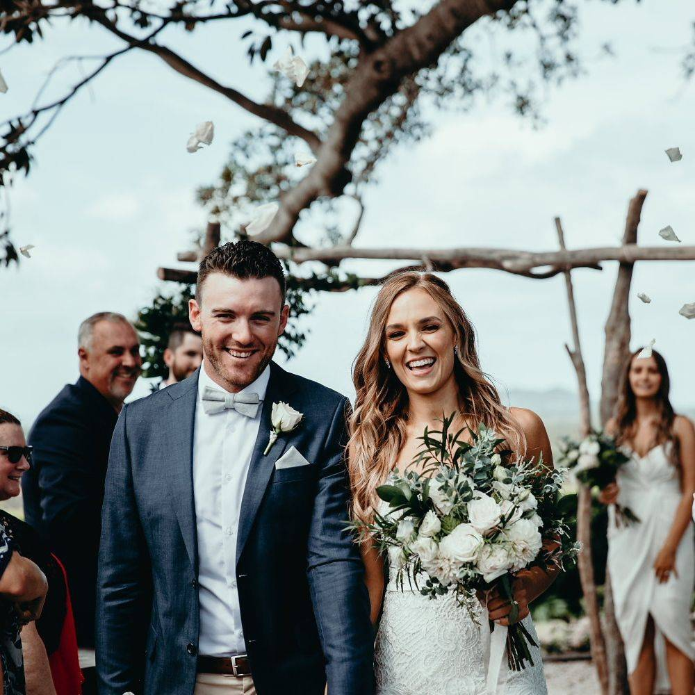 Renee and Ben's Fig Tree Wedding