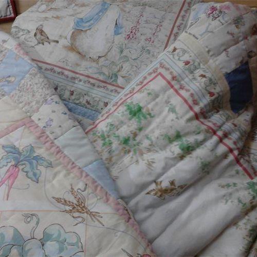 Beatrix Potter Single Quilts