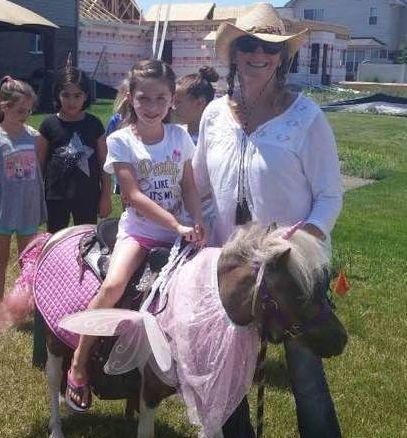 Debbie and pony