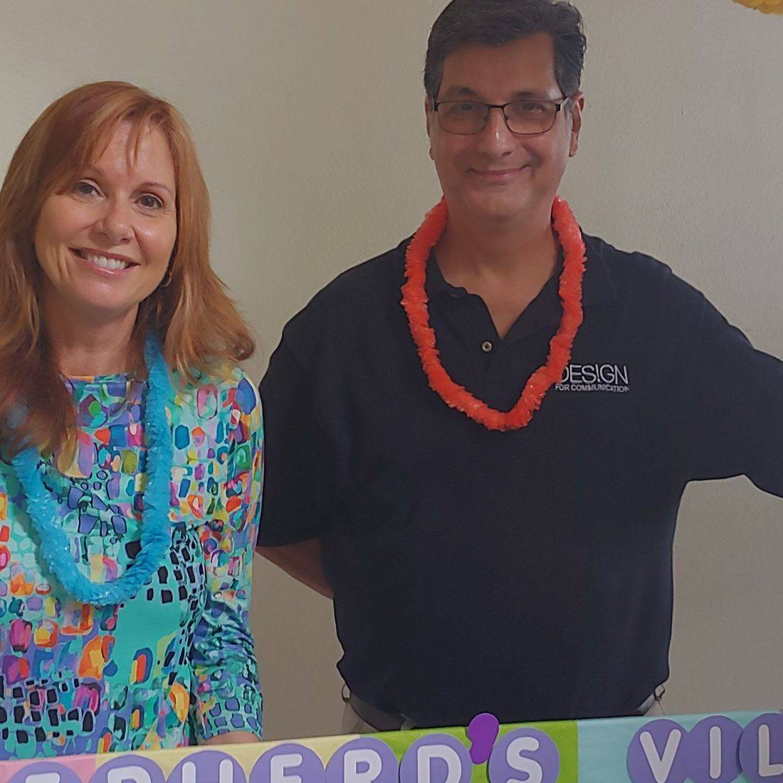 Bluffs Business Association Move that Truck Reveal Party- New apartment furnished