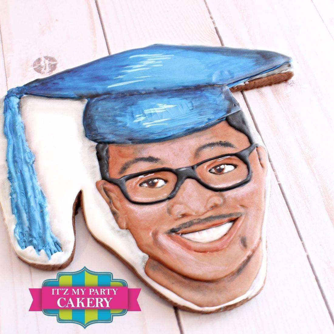 Portrait Cookies, Giant Face Cookies, Likeness Face Cookies, Custom Cookies, Itz My Party Cakery