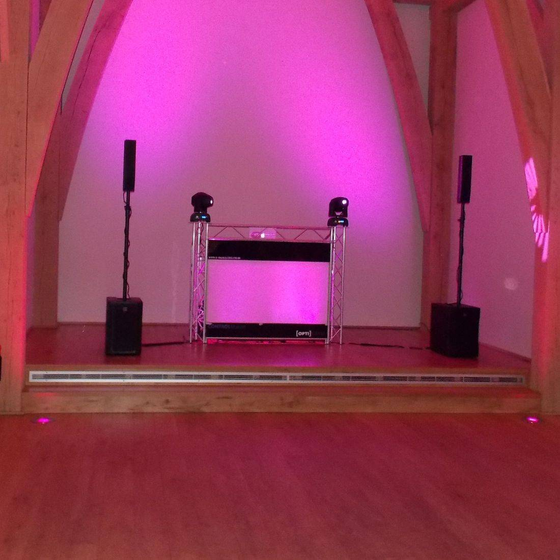 Wedding DJ across Shropshire At The Mill Barns