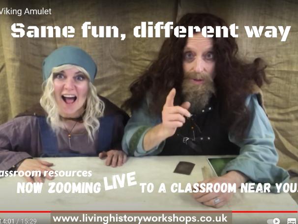 Viking workshop streamed online for ks1 ks2