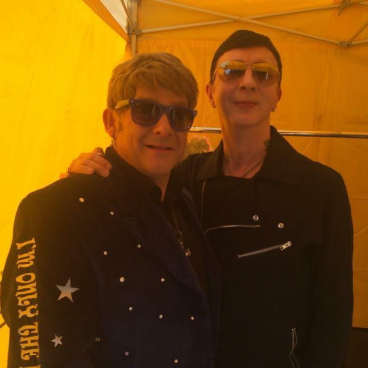 Elton John Tribute act  Andy Crosbie  Rocketman ! Marc Almond soft cell