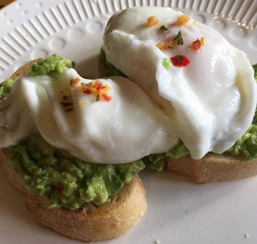 Recipe for Chilli Eggs & Avocado