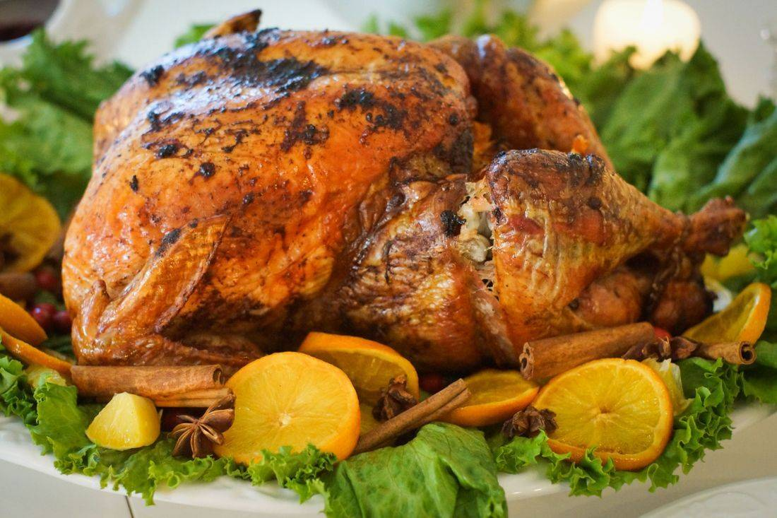 Thanksgiving day turkey catering by Arista Catering