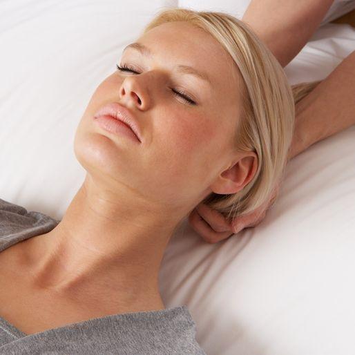 Shiatsu Behandlung entspannt