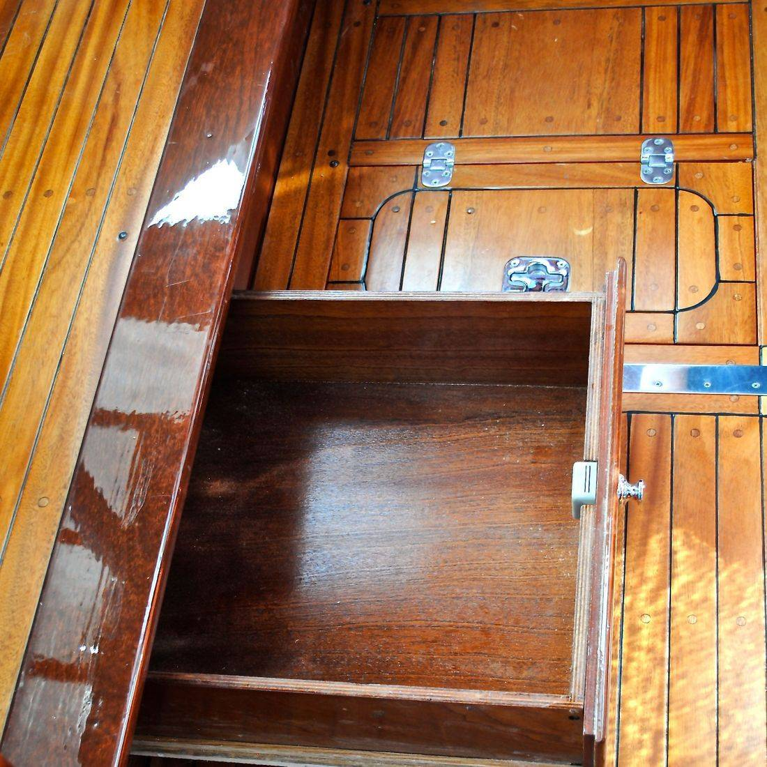 Custom cabinetry by Bergersen Boat restoration