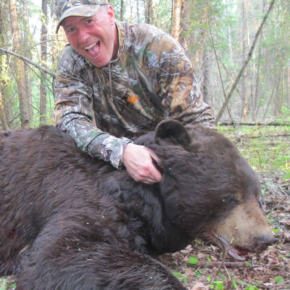 black bear, bear hunting, bear, Manitoba Canada, Outfitters