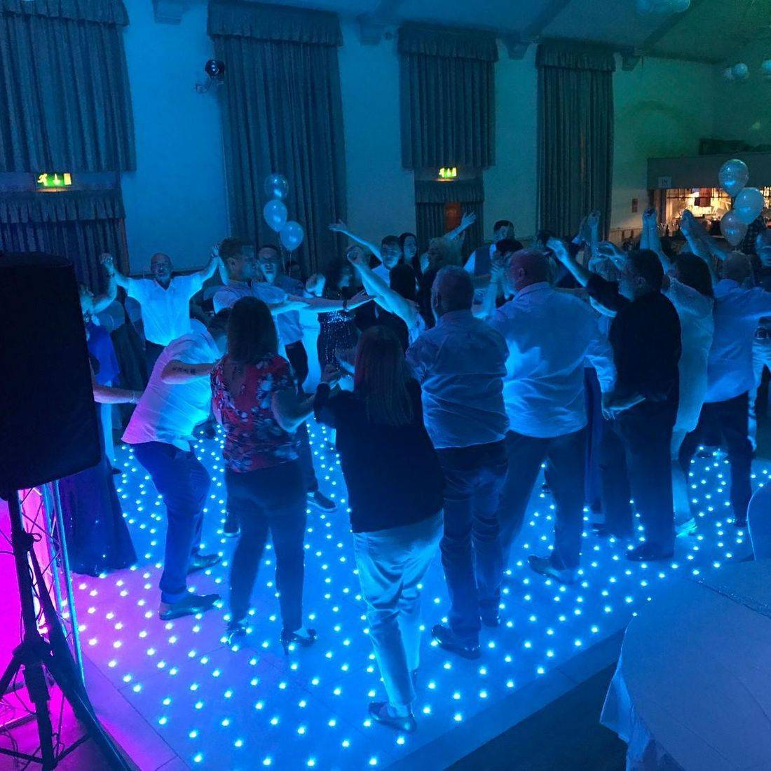 LED Dancefloor Hire Wedding LED Dance Floor Hire