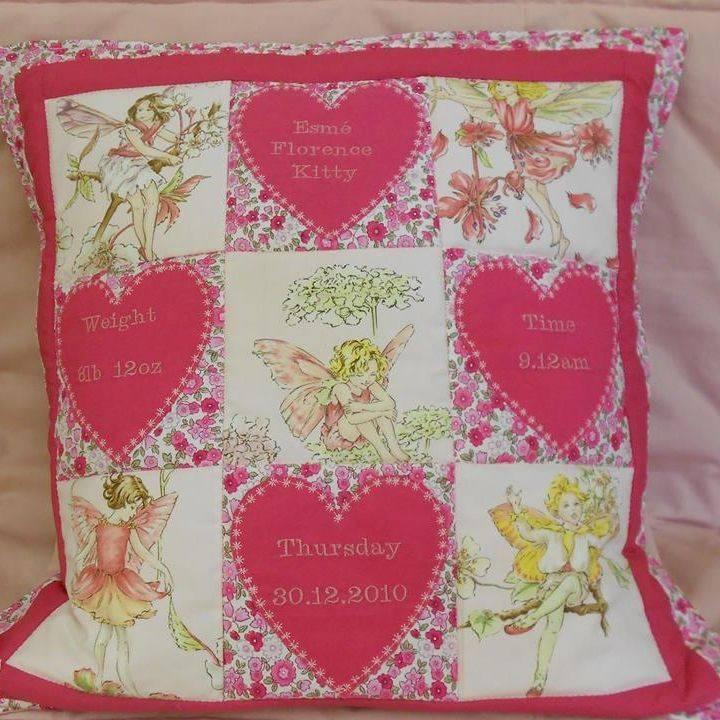 Personalised Fairy Cushion