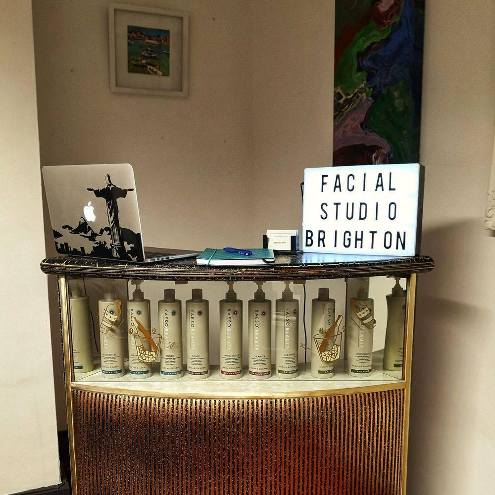 The welcoming reception at Facial Studio Brighton