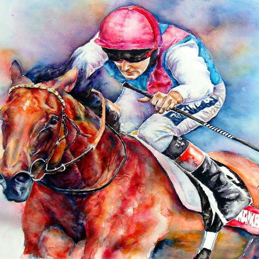 Frankel the greatest Race horse ever by Mary Saifelden