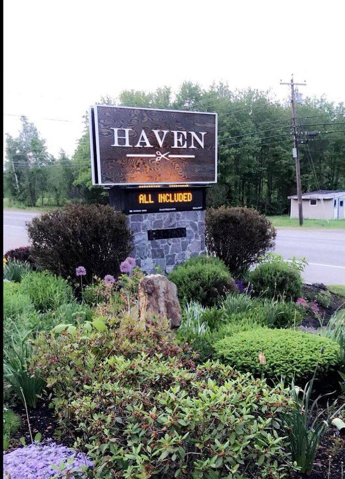 haven spa salon lisbon maine hair massage