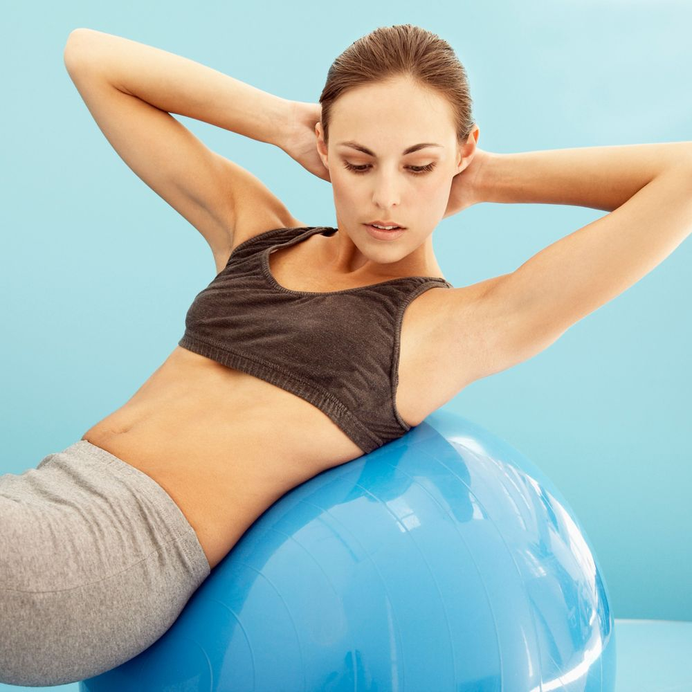 Core conditioning fitness cards to follow at home