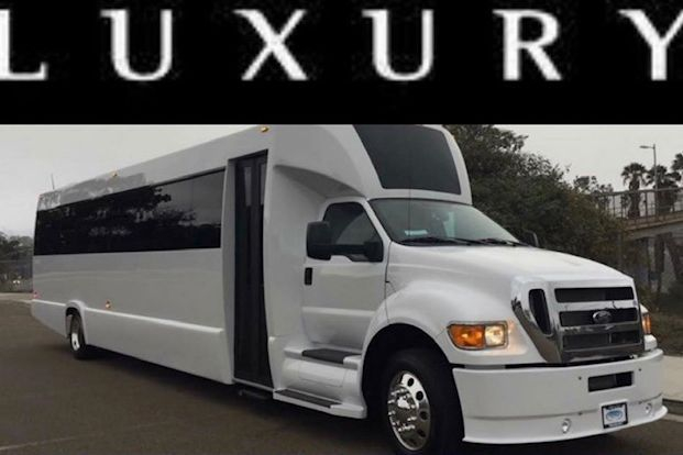 40 passenger Limo Party Bus