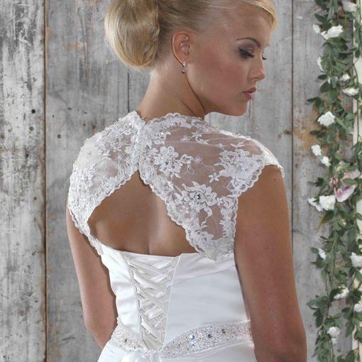 lace straps, bolero,lace jacket,bridal jacket