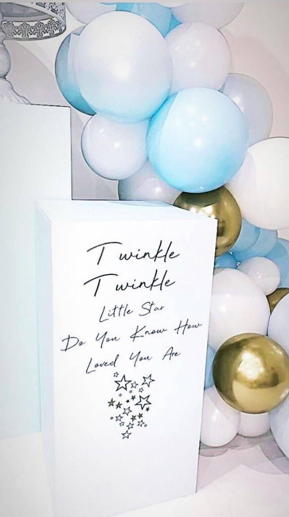 Blue Plinth - Twinkle Twinkle