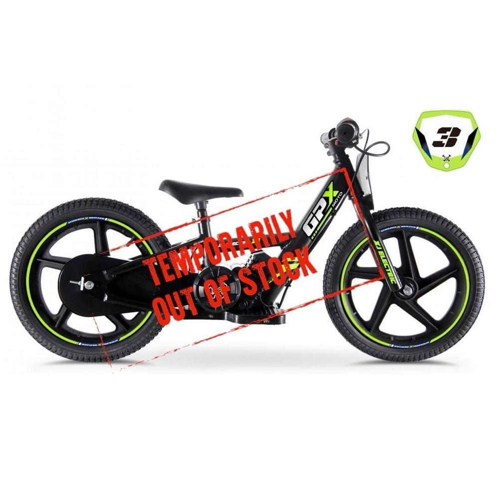 GPXMoto Electric Balance Bike XJ-E16 temp out of stock