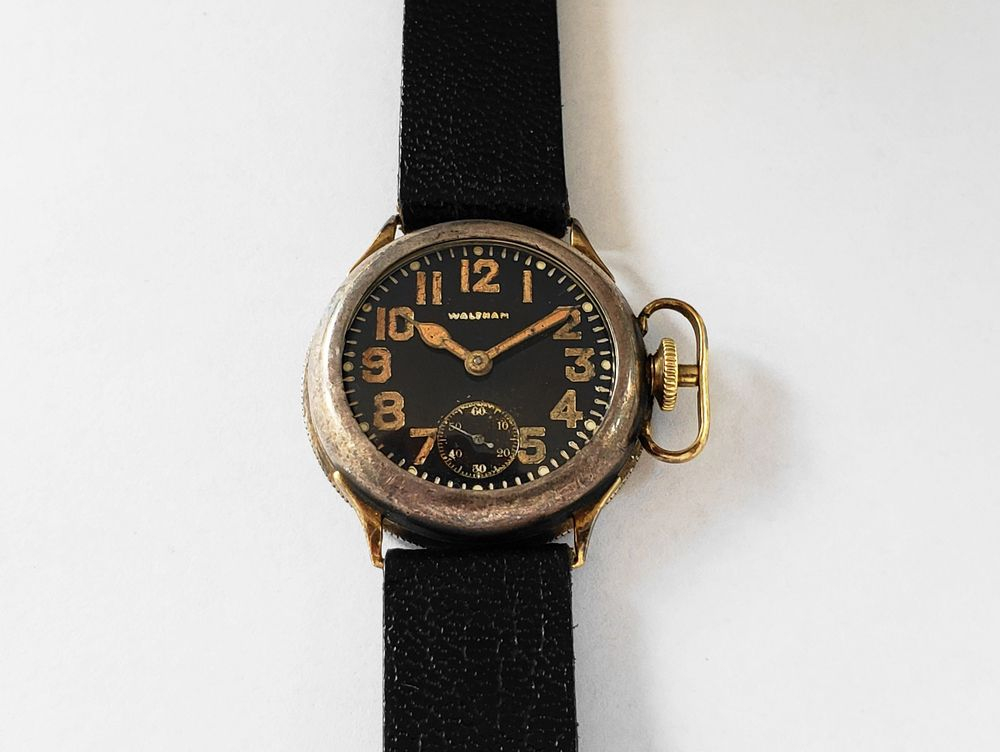 1919 Waltham Matalene Waterproof Wrist Watch