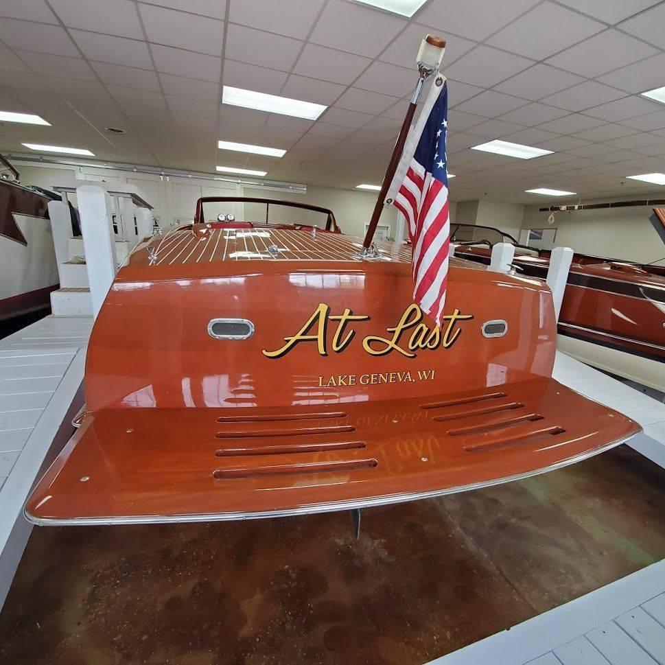 1955 Custom Wood Boat for Sale Lake Geneva, WI