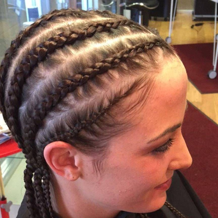 Braids in Houston, Texas at the Hair Extensions by Allison