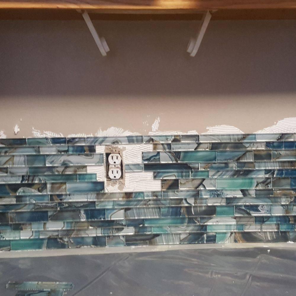 Jer Bear Homes | Saint Paul | Tile Backsplash | During