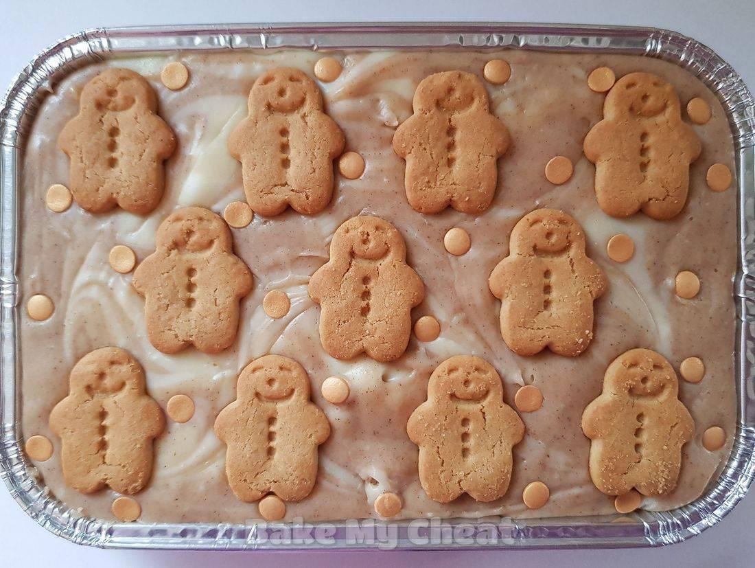 Gingerbread fudge tray, handmade fudge, novelty gifts