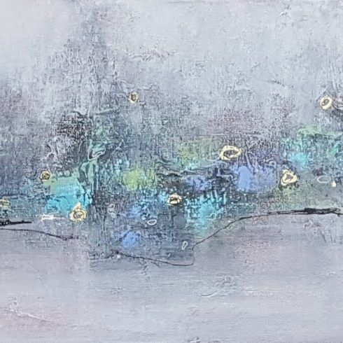 acrylic painting abstract contemporary art