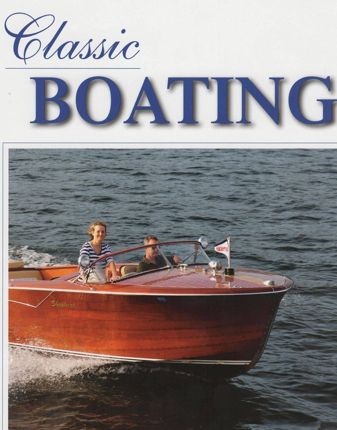 Bergersen Boat Co.  on Classic Boating Cover