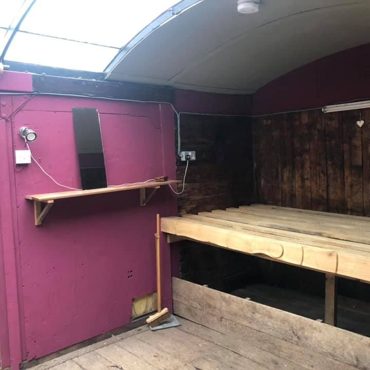 Branwen our up cycled vintage style Railway Carriage