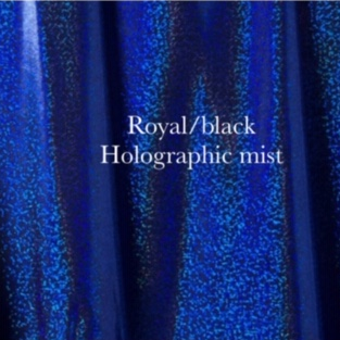 royal black holographic mist