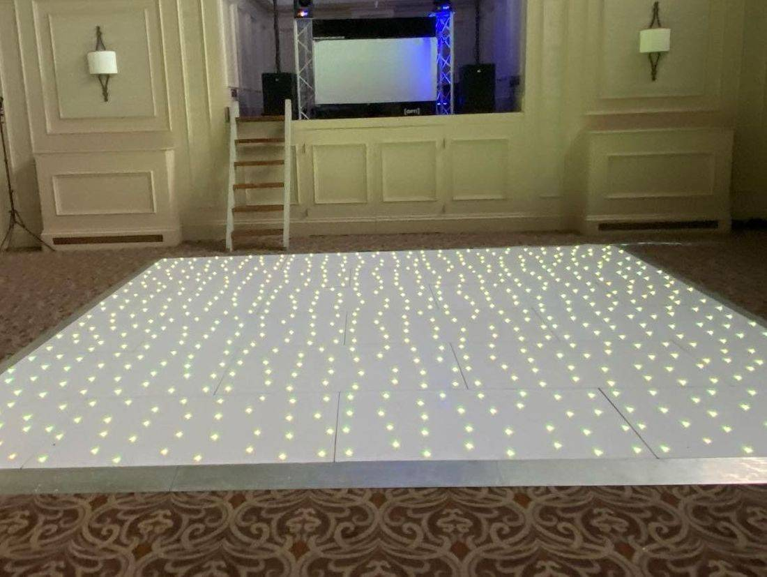 LED Dance Floor Hire Worcesterhsire Birmingham West Midlands