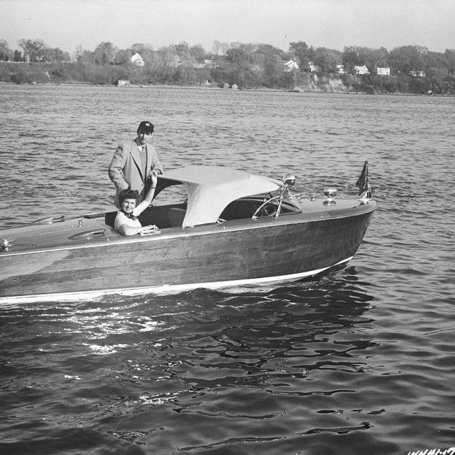 Shepherd Wood Boat in Canada