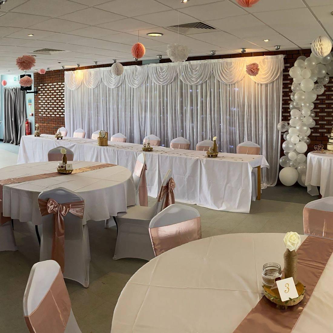 Wedding Venue dressing Worcestershire