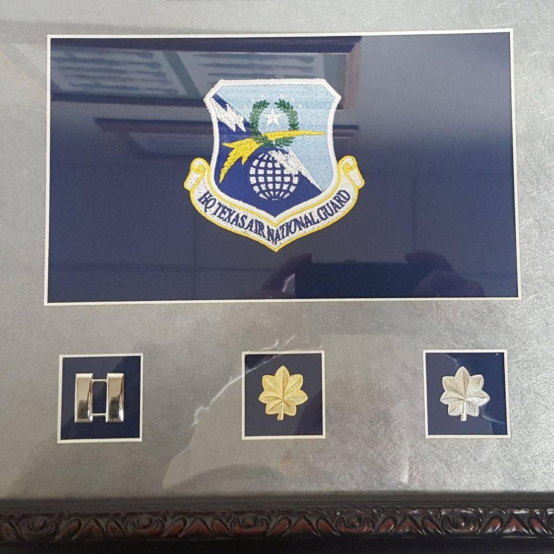 Headquarters Texas Air National Guard Award Embroidered Emblem