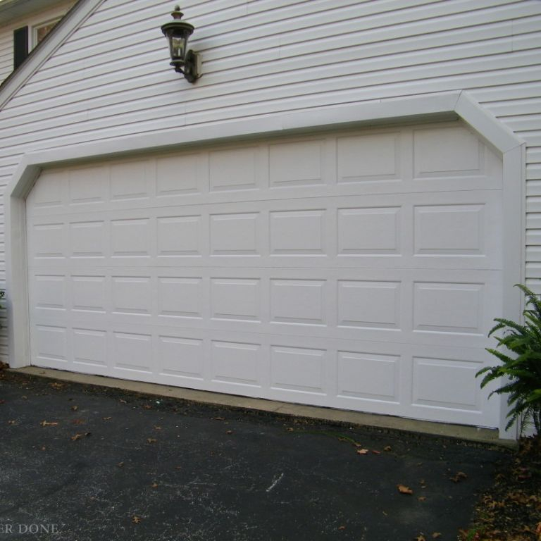 Simply The Best Professionally Cleans Garage Doors in Essex