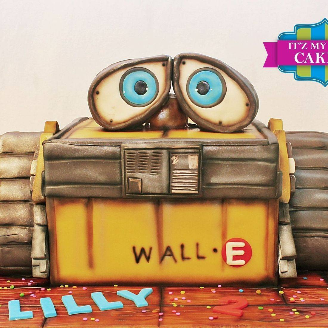 WallE Cake Dimensional Cake Milwaukee