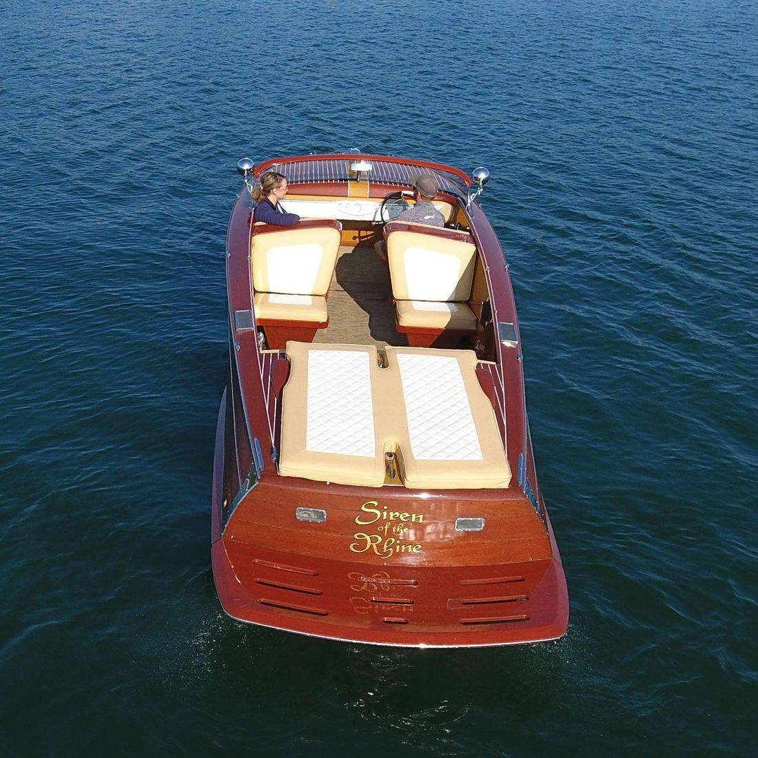 custom designed shepherd boat interior
