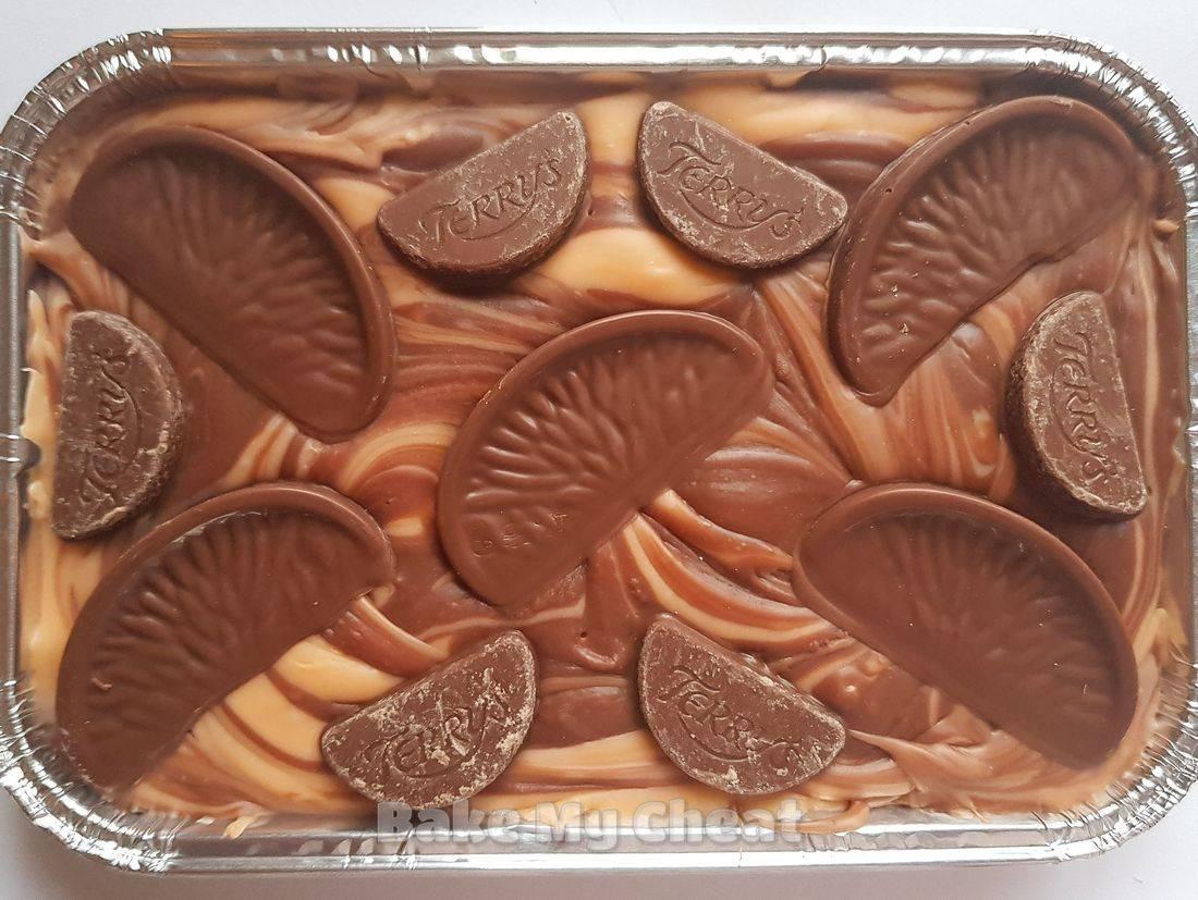 chocolate orange fudge, chocolate orange gifts, birthday, hen night, wedding gifts