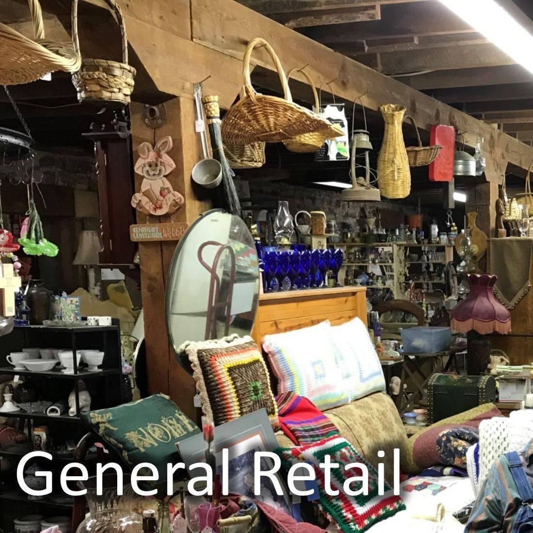 Stores, Antiques, Retail