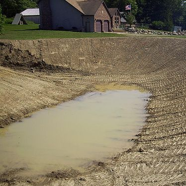retention pond, Pond contractor, pond development, ponds, excavation, dozer, dirt work, pond installations