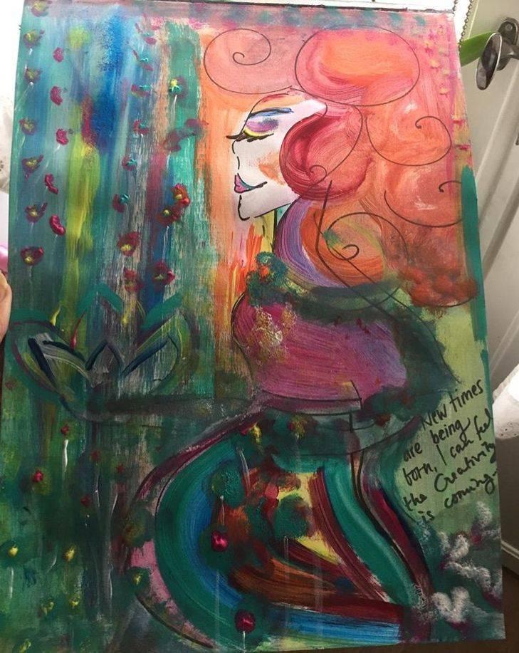 Arts, lotusflower, gudinna, godess, kreativ, creativity