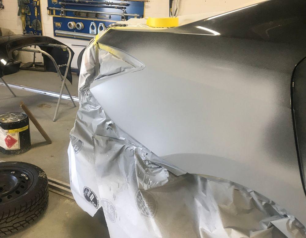 1/4  Panel repair
