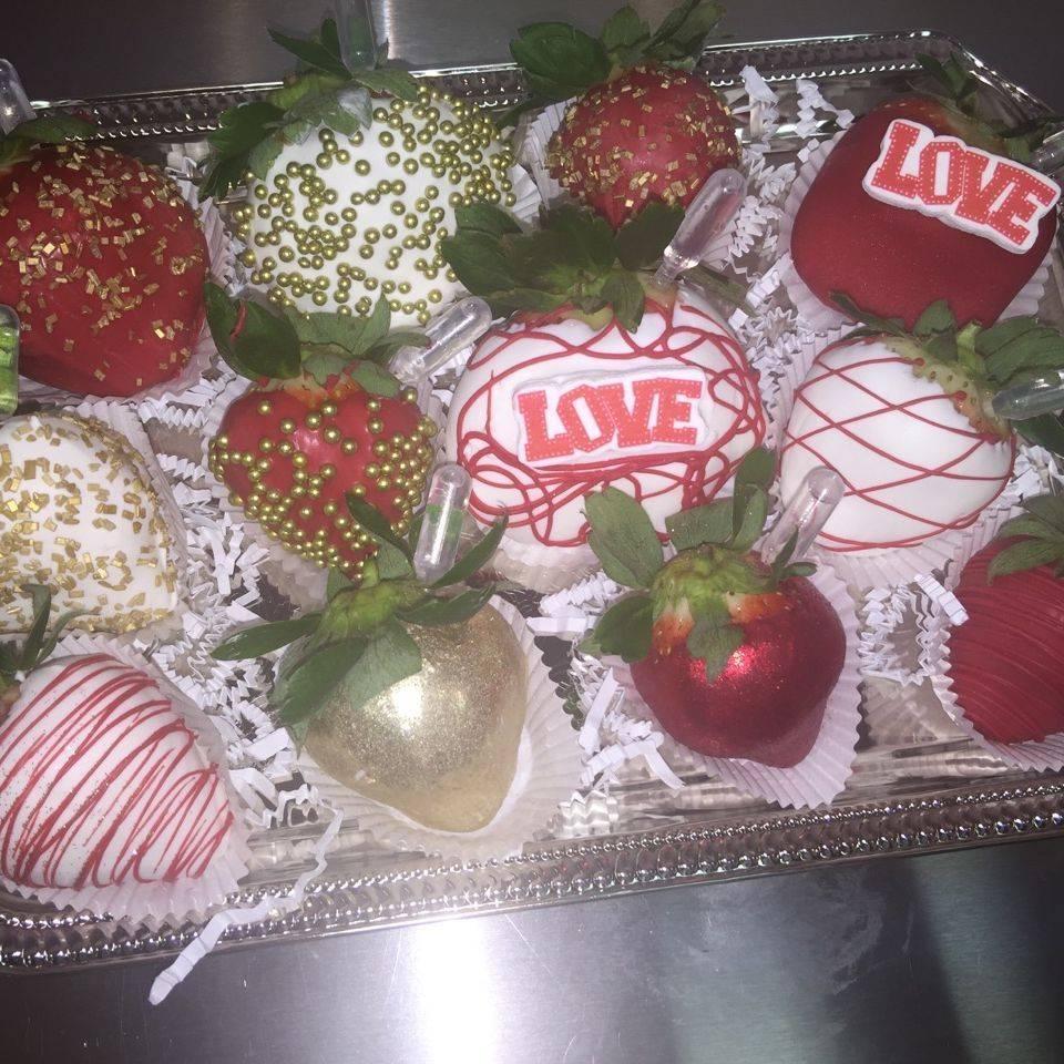 Infused strawberries